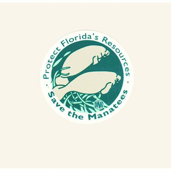 "1992-1993 ""Protect Florida's Resources"" decal by Marrell Burgess."