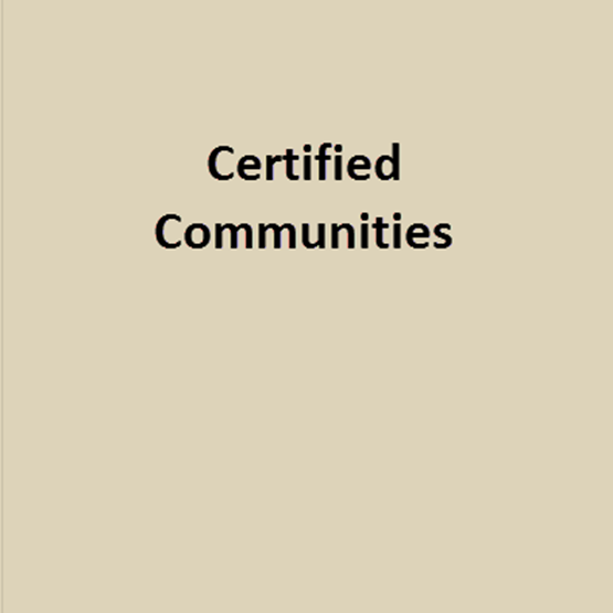 certified communities