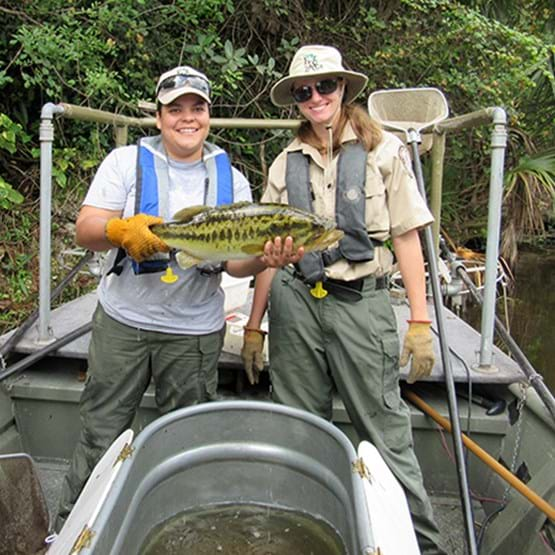 FWC freshwater fisheries biologists