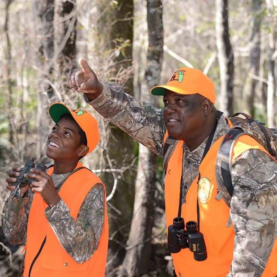 Father Son Hunting Activity