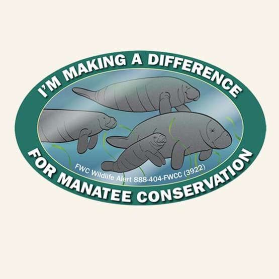 "2018-2019 ""I'm making a difference"" decal by Mike Hunter, FWC."