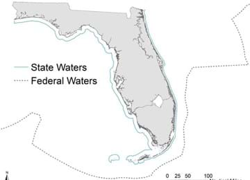 State Waters Map