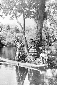 Seminole Indians historic photo